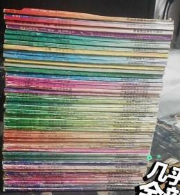 圣斗士 45本有重复,最上面一些书接近九五品!