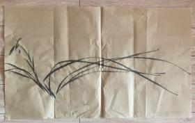 国画 毛边纸  // 水墨画 尺寸:71x42.5厘米 品相以图为准