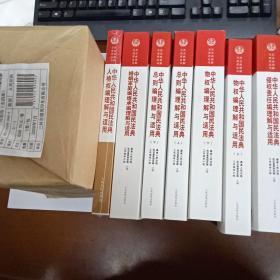 《中华人民共和国民法典理解与适用》(全套11册)
