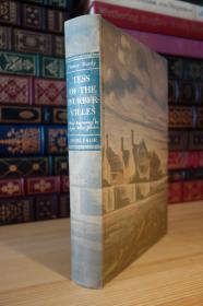 Tess of the D'Urbervilles . Heritage Press 托马斯哈代 德伯家的苔丝    Agnes Miller Parker木刻插图