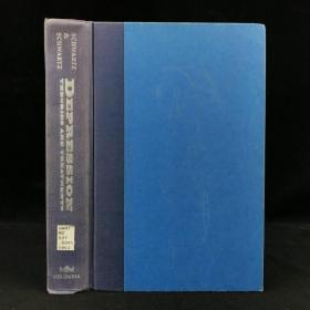 1993年,亚瑟·斯沃特兹《抑郁症:理论与治疗》,哥伦比亚大学出版,近十幅插图,精装,Depression: Theories and Treatments by Arthur Schwartz