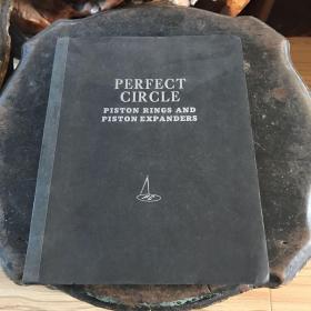 1947年美商萨门洋行英文原版:PERFECT CIRCLE  PISTON RINGS AND PISTON EXPANDERS