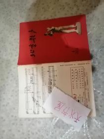 北京歌声1958年改刊号  品相如图