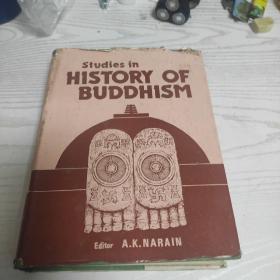 英文原版Studies in HISTORY OF BUDDHISM  佛教历史研究