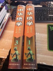 中华绝学——中国历代方术大观(1+3) 2本合售 【一版一印  印数3000册】