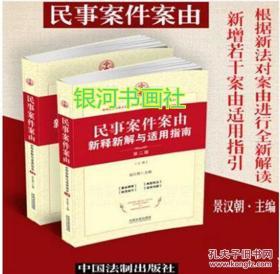 【现货速发】民事案件案由新释新解与适用指南(第二版)
