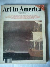 英文原版书:ART IN AMERICA美国艺术杂志 1980年出版