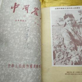 中国农报1955  年 第2..3.5.6.8.9.10.11     八本合售