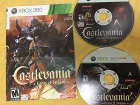xbox360游戏 恶魔城 暗影之王 游戏光盘 2碟装