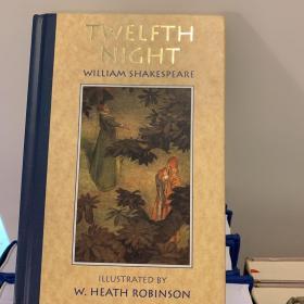 The Twelfth Night 精美插图本