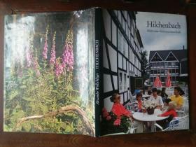 1979年德国原版画册《希尔兴巴赫风光》,扉页有签名留言,另附圣诞贺卡一张,品好包快递。