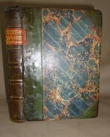 1856 年 LAURENCE STERNE - Tristram Shandy Gentleman 劳伦斯•斯特恩旷世奇书《项狄传》3/4小牛皮古董书 配补插图