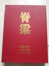 脊梁 抗震救灾 众志成城纪念邮册