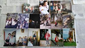 中国肿瘤医学创始人金显宅夫人、民国名门闺秀吴佩球晚年照片等16张。