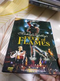 火焰之舞海德公园现场实况   DVD盒装私人收藏