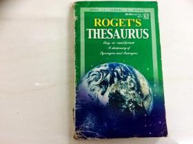 L003560 ROGET'S THESAURUS(书本自然成旧)
