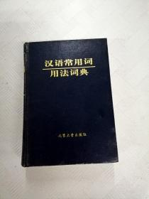 LA4003249 汉语常用词用法词典
