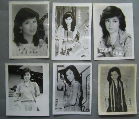 翁美玲老照片8cm