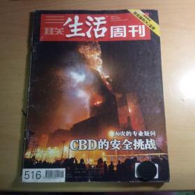三联生活周刊 邮发代号82-20 2009.2.23 火灾的专业疑问