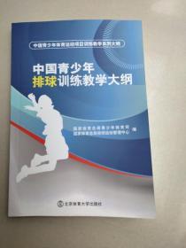 中国青少年体育运动项目训练教学系列大纲:中国青少年排球训练教学大纲(原版库存)