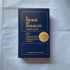 A Course In Miracles   ( Combined Volume) (精装)