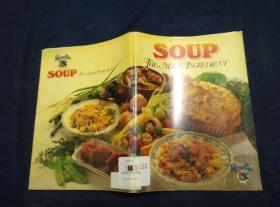 SOUP THE MAGIC INGREDIENT 汤是神奇的配料 正宗西餐汤料的做法