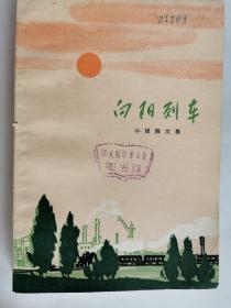 向阳列车  文革小说 短篇小说集 题图本 一版四印