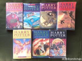 harry potter哈利波特哈利波特英文英国儿童版36开harry potter 品相自看,有些旧,无笔记无掉页