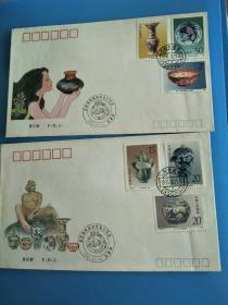 T166 景德镇瓷器邮票首日封