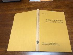 Ergodic Properties  of Algebraic Fields
