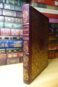 Faust 歌德的浮士德  EASTON PRESS 真皮收藏版 三面刷金