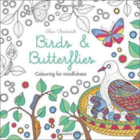 Birds&Butterflies:ColouringforMindfulness