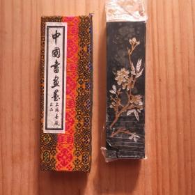铁斋翁书画宝墨上海墨厂70早期无码老2两1锭71克油烟101 老墨锭N952