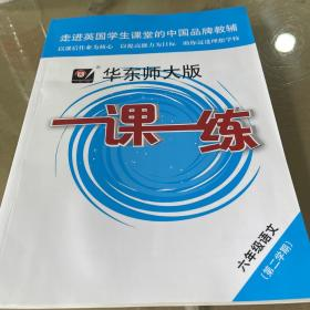 一课一练·六年级语文(部编版)(第二学期)