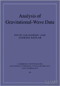 原版Analysis of Gravitational-Wave Data/Piotr Jaranowski