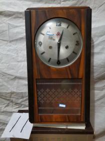 挂钟  555  十五天 木制机械挂钟