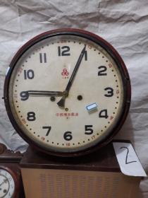 挂钟 555  十五天 大圆钟。中国钟表厂造