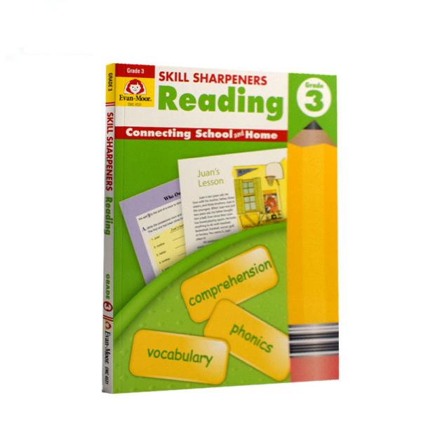 Evan-MoorSkillSharpeners技能铅笔刀ReadingGrade3三年级阅读美国加州教辅