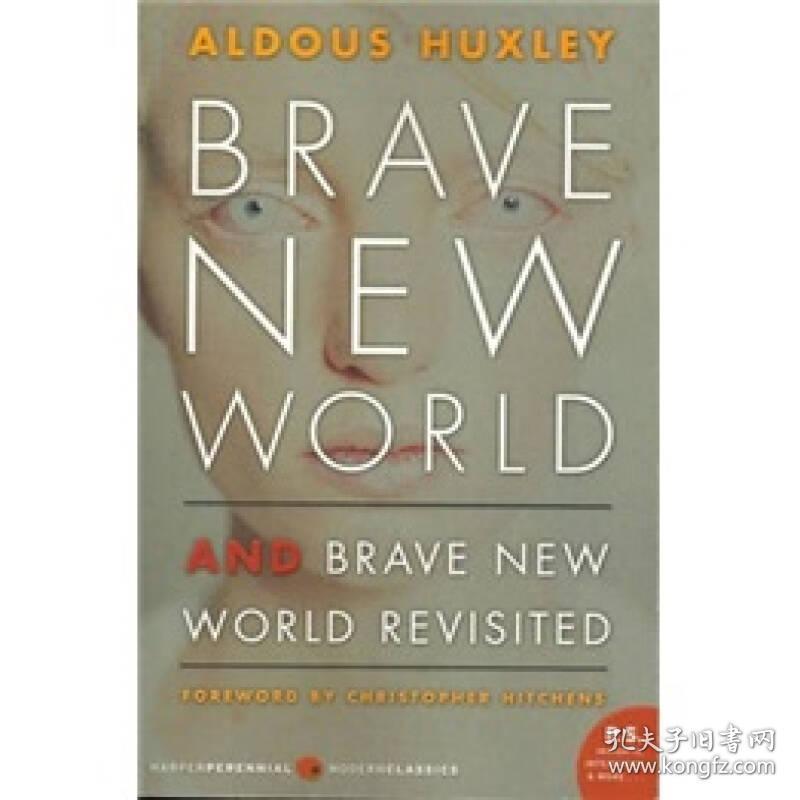 预售 英文预定 Brave New World and Brave New World R