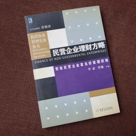民营企业理财方略——民营企业管理实务丛书