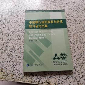 中国银行业的改革与开放研讨会论文集