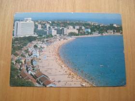 青岛------明信片------画片-----1张(货号885)