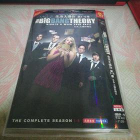 生活大爆炸 第1-5季DVD光盘8张
