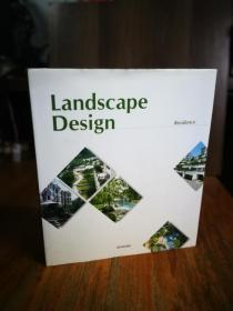 LANDSCAPE DESIGN【英文韩文对照,精装大12开本彩印画册, 图文并茂】