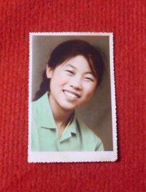 老照片--早期的大闺女--手工上色--影集1