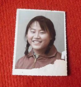 老照片--早期的女孩子--手工上色--影集1
