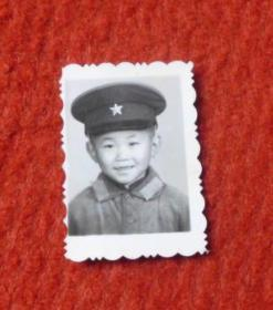老照片--穿军装的孩童--影集1