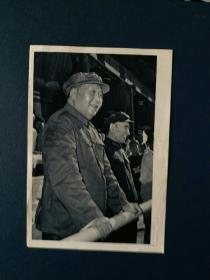 毛主席林彪在天安门