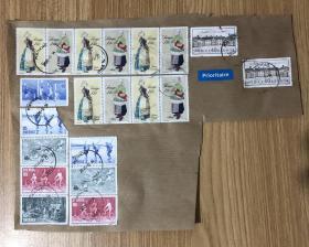 瑞典邮票 外国邮票 SVERIGE POSTNORD