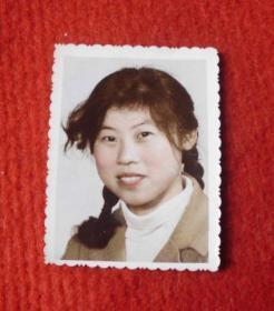 老照片--早期的美少女--手工上色--影集1
